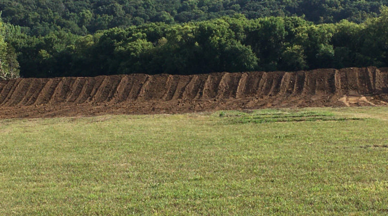 Rifle Range Initial Dirt Work Aug 2020